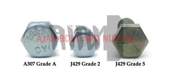 پیچ استاندارد ASTM A307