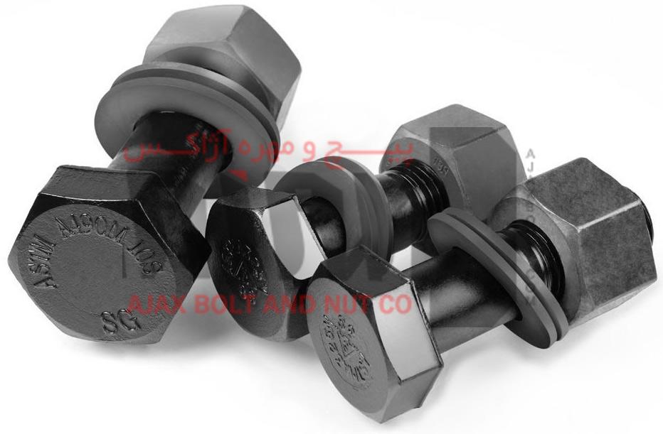 پیچ و مهره استاندارد ASTM A490