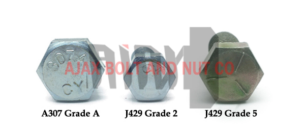 Bolt standard ASTM A307